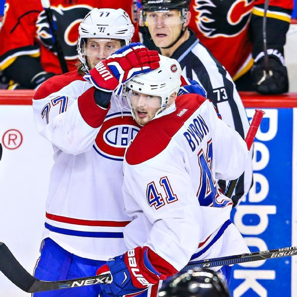 Canadiens sign forward Paul Byron to 4-year extension