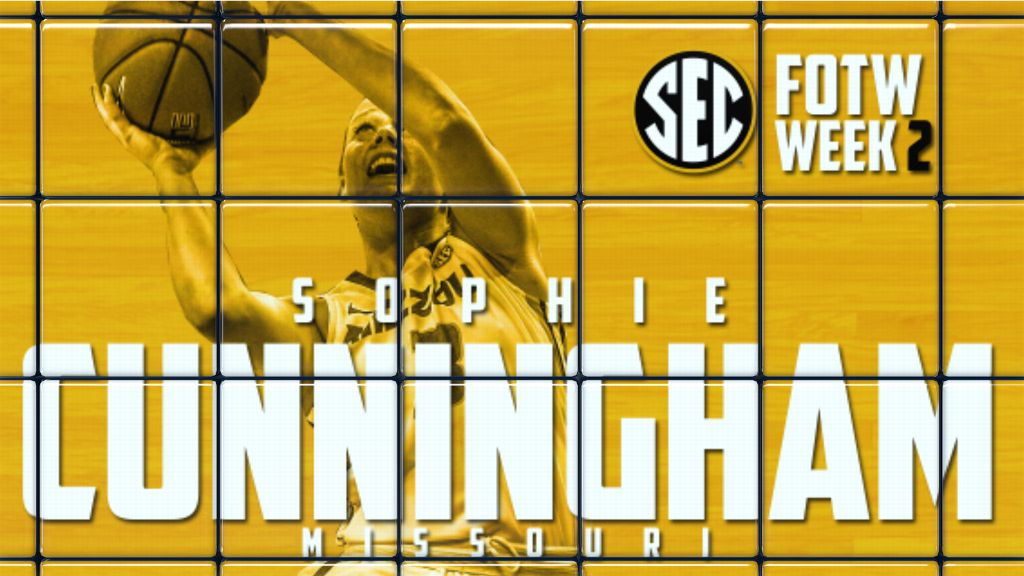 Graves, Walker, Cunningham earn SEC WBB honors