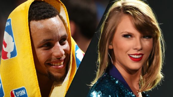 Stephen Curry, Taylor Swift