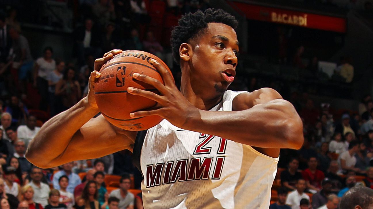 NBA NBArank 32 Miami Heat Center Hassan Whiteside