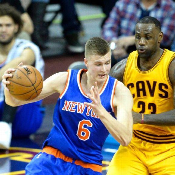 New York Knicks Rookie Kristaps Porzingis Fourth In Jersey