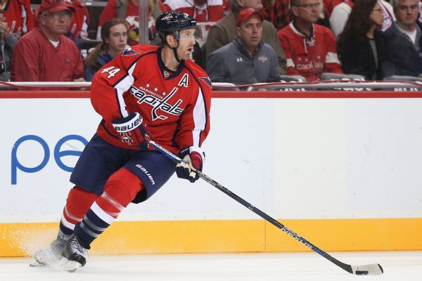 NHL clears Capitals on trading, signing Brooks Orpik after buyout