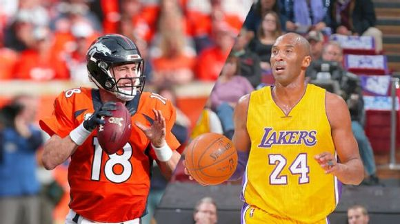 Peyton Manning and Kobe Bryant
