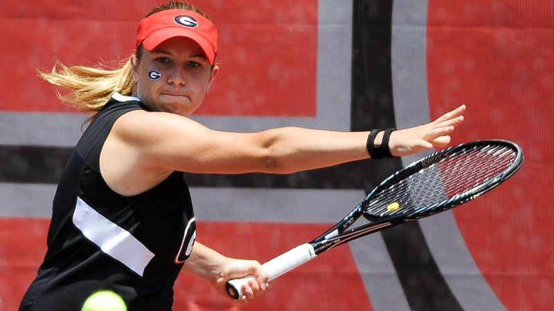 UGA Tennis' Perez's memorable week