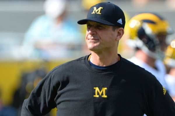 Jim Harbaugh plans to take Michigan to South Africa in 2019