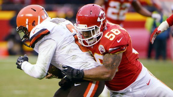 Derrick Johnson's consistent presence will be difficult for Chiefs to replace
