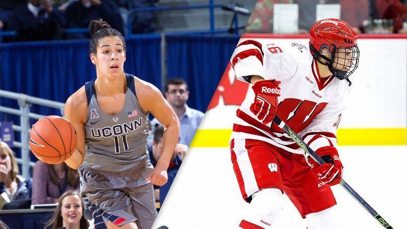 Sarah Nurse Leads Wisconsin Into Ncaa Hockey Tournament Kia Nurse