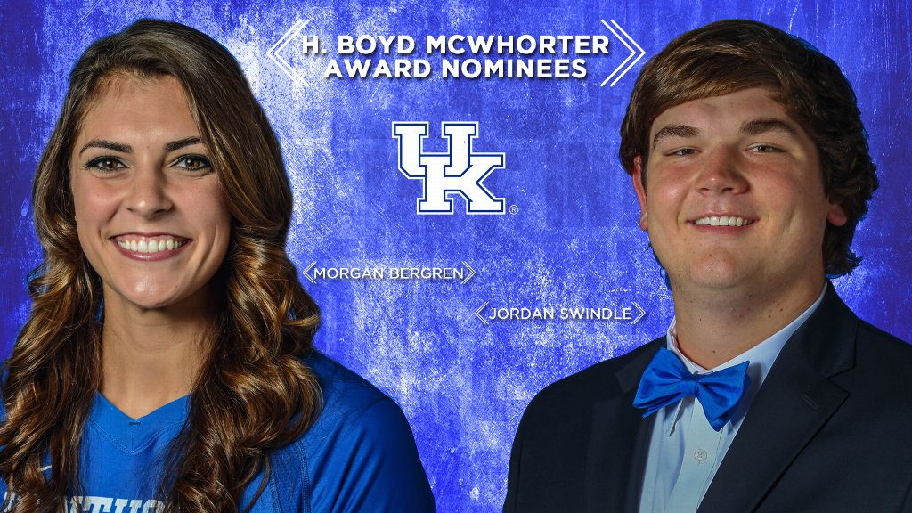 UK's Bergren, Swindle nominated for McWhorter Award