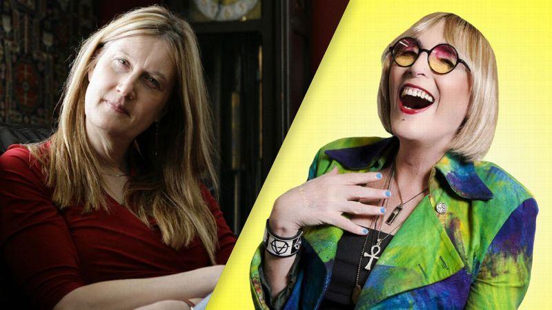 c8f371e314f4 The Conversation with transgender icons Jennifer Finney Boylan and Kate  Bornstein