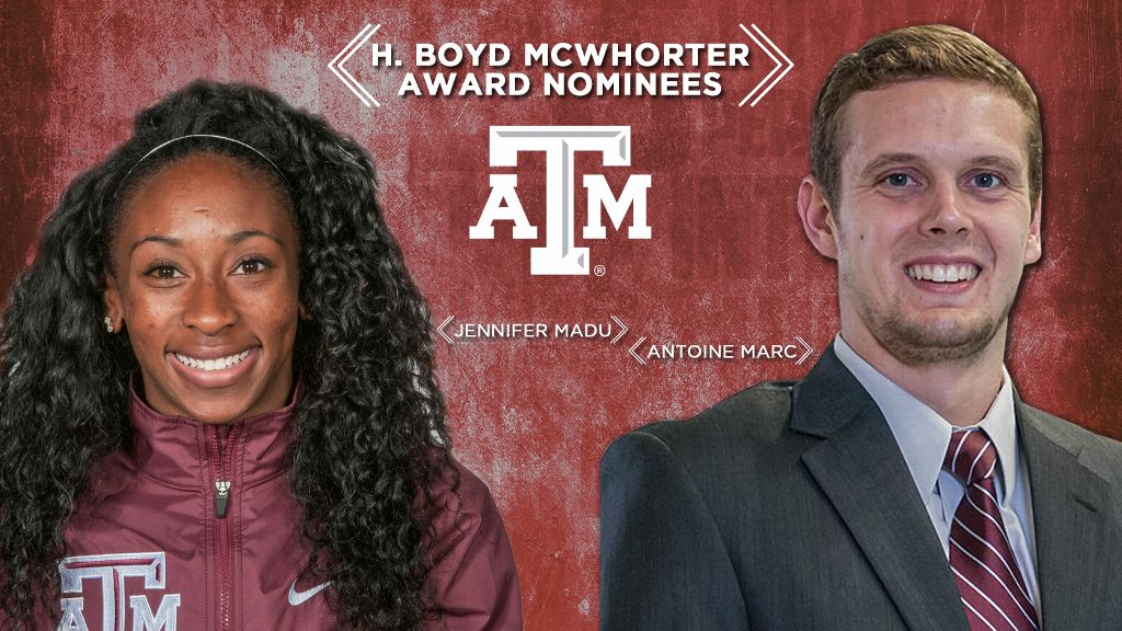Texas A&M nominees for McWhorter Awards announced