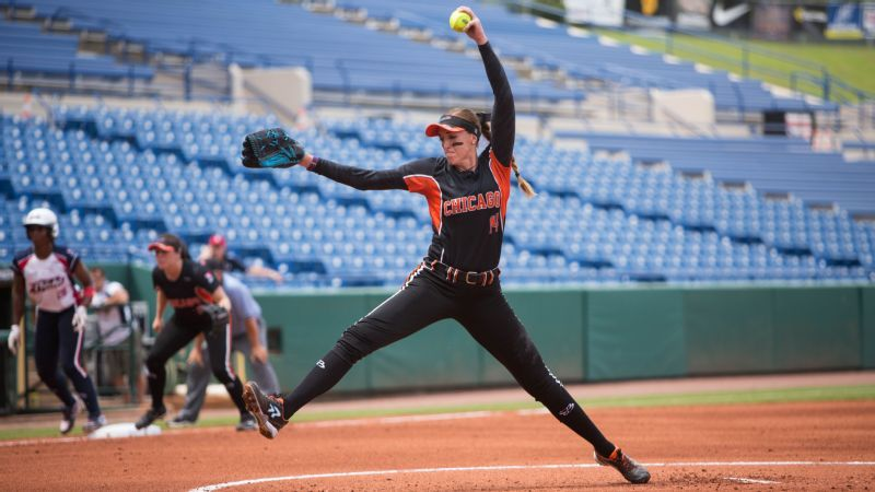 0b6619026 Pitcher Monica Abbott signs $1 million contract with National Pro ...