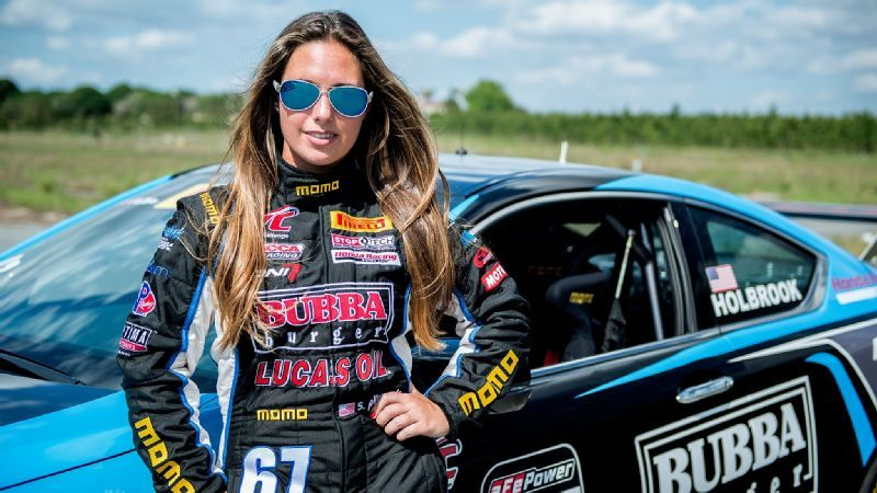 Cool jobs in sports -- Race car driver Shea Holbrook