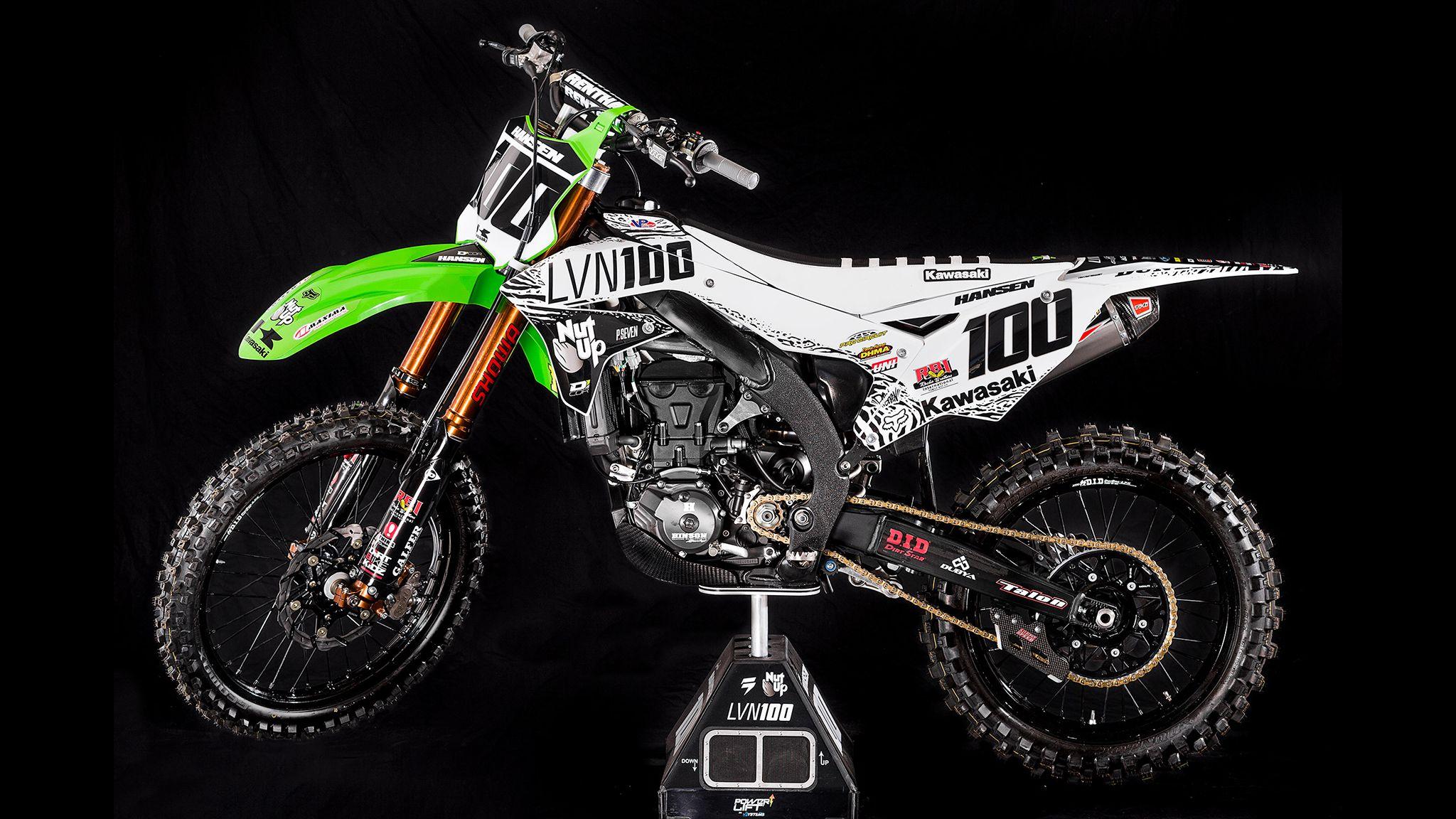 Inside Josh Hansen S Kx450f Motocross Mtb News Bto