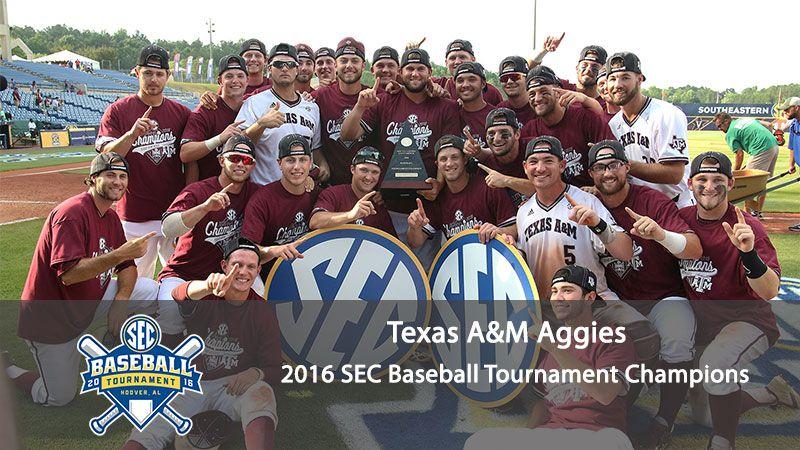2016 sec baseball tournament