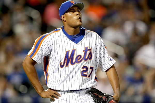 Jeurys Familia sits vs. Yankees while Mets work trade with A's