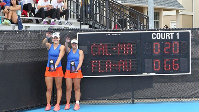 Florida's Austin and Keegan capture NCAA Doubles title