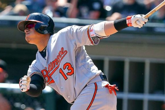 Baltimore Orioles' Manny Machado hits 3 HRs in 3 innings ...