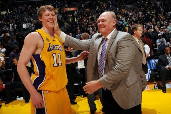 Coby Karl  and George Karl