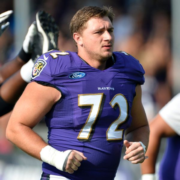 No serious neck injury for Ravens guard Alex Lewis