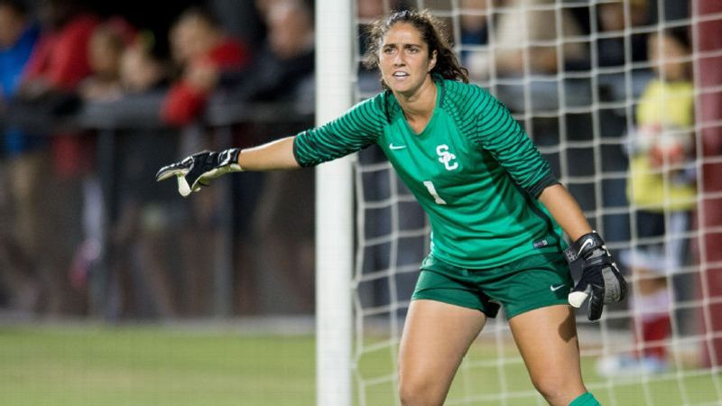 NCAA women s soccer -- USC goalkeeper Sammy Jo Prudhomme named espnW ... 2b4790f217