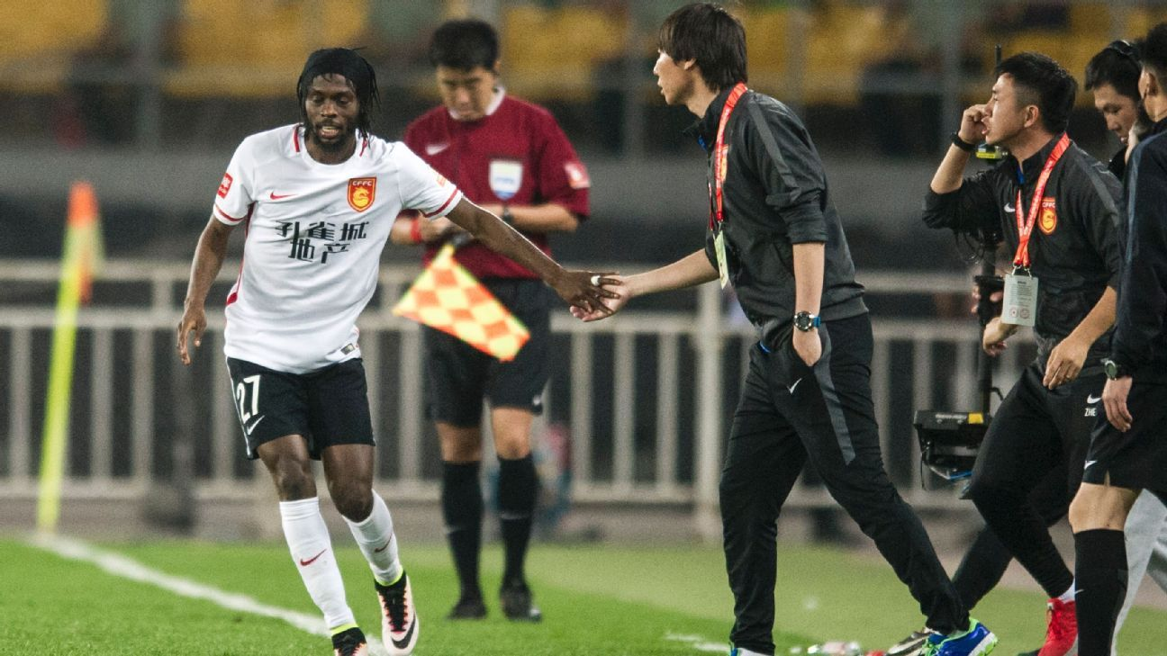 Gervinho leaves China to return to Serie A with Parma