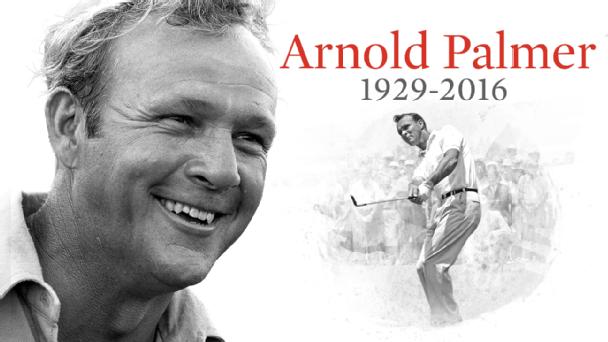 Arnold palmer death date in Hamilton