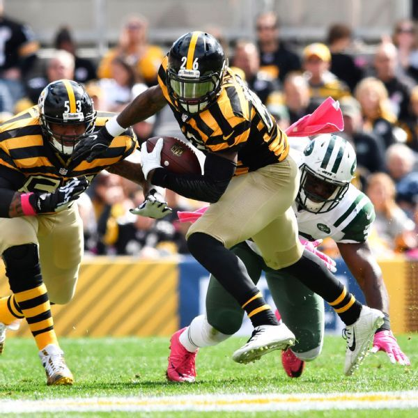 Jets call Steelers about Le'Veon Bell; no offer made