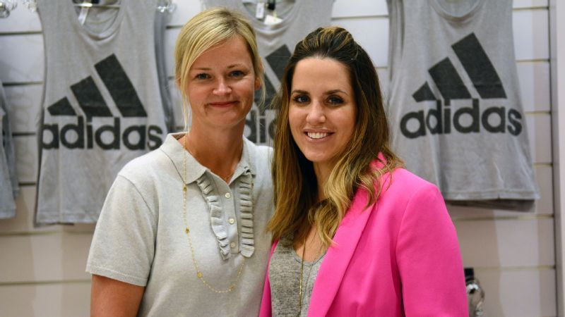 Cool jobs in sports  Adidas executives Nicole Vollebregt and Kelly Olmstead 62e0962f97