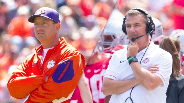 Dabo Swinney and Urban Meyer
