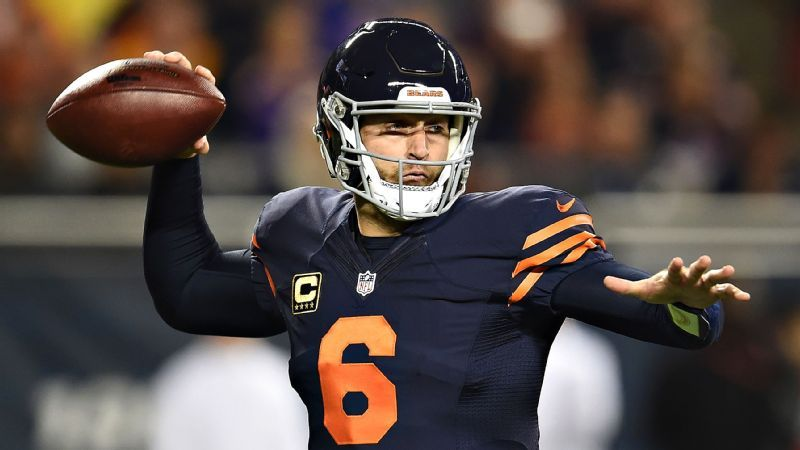 Jay Cutler while playing in the Chicago Bears