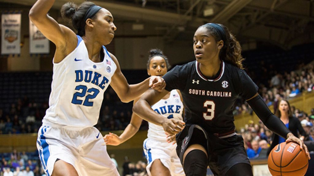 No. 3 South Carolina falters vs. Duke