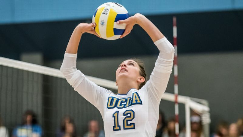 NCAA volleyball -- Next stop for UCLA Bruins setter Ryann Chandler ... 06d71de6eda8