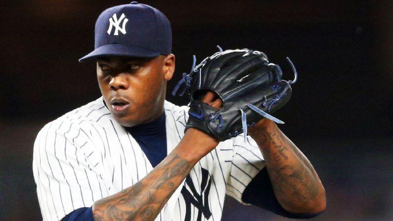 Aroldis Chapman Yankees