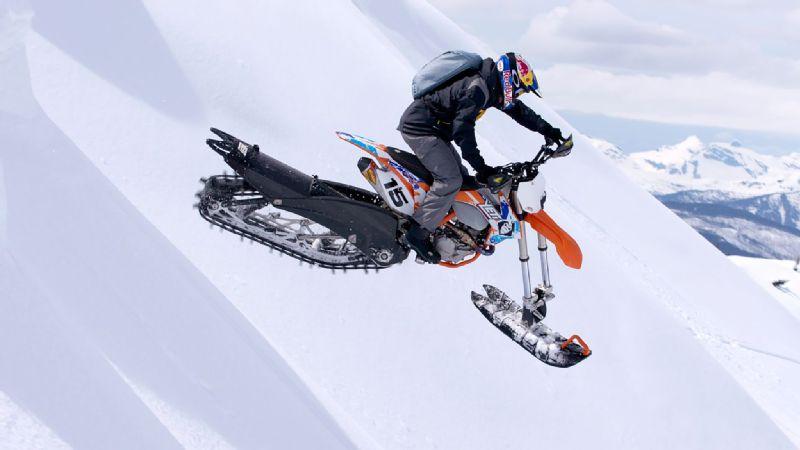 Snow Dirt Bike >> X Games Aspen 2017 Preview Robbie Maddison And Snow Bikecross