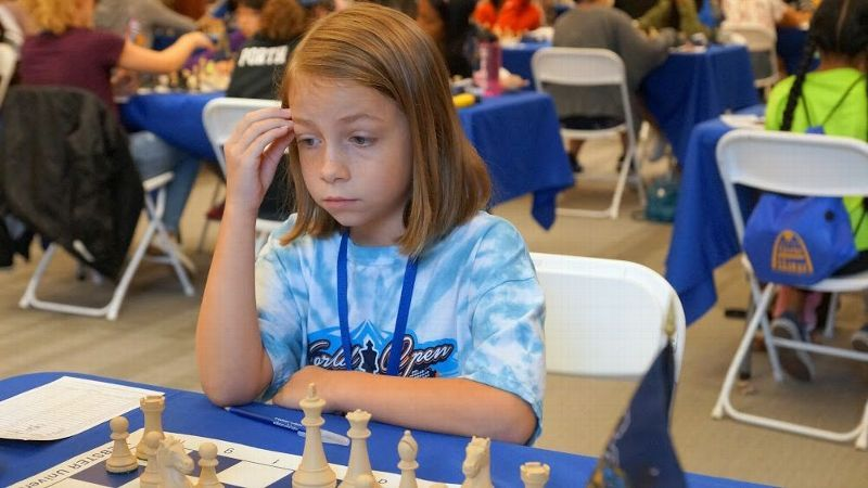 The Susan Polgar Foundation Girls' Invitational tournament draws players from all 50 states and awards more than 200,000 in scholarships.