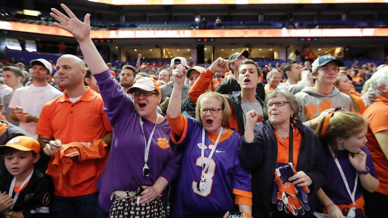 Fans Across America College Football Playoff National Championship