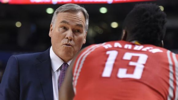 Mike D' Antoni, James Harden, Houston Rockets