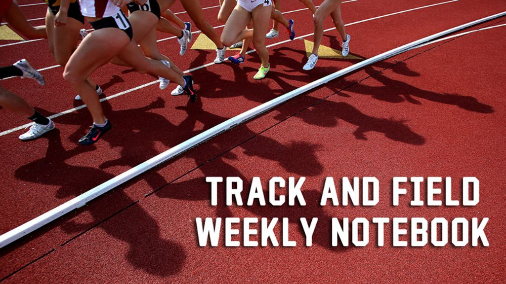 SEC Track and Field Notebook - April 19