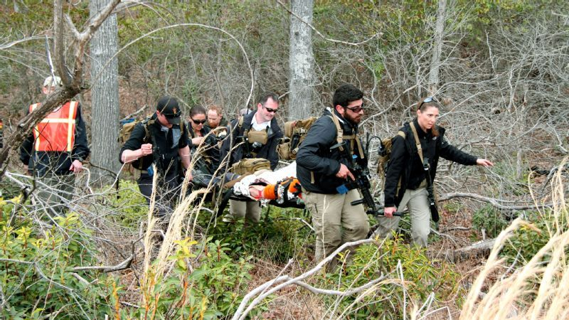 During a high-intensity four-day exercise, Diplomatic Security special agents rely on their mental and physical stamina to successfully evacuate through thick brush and rough terrain.