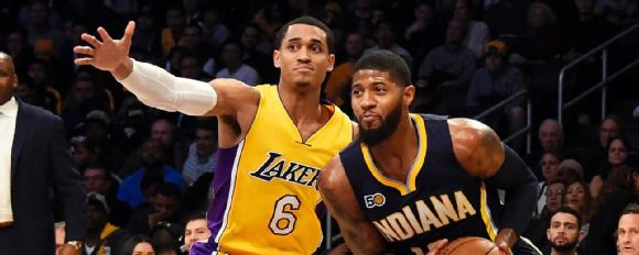 Paul George, Jordan Clarkson