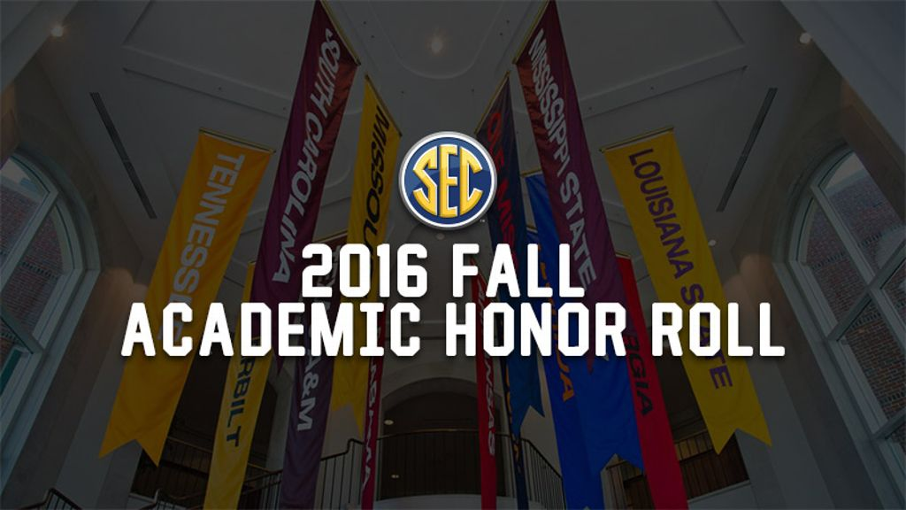 2016 Fall SEC Academic Honor Roll