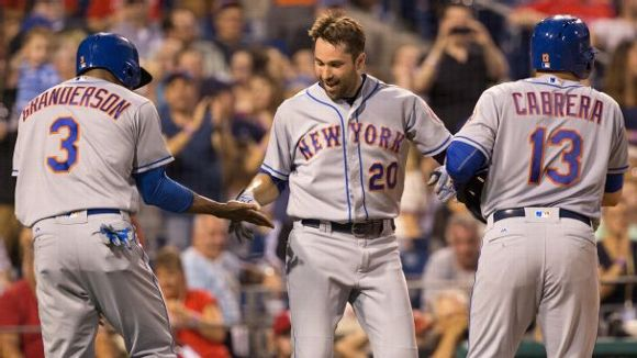 Neil Walker, Curtis Granderson, Asdrubal Cabrera, New York Mets