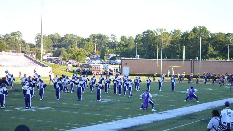 24180bdb Even with the challenge of a new band director, NaKia Bryant and Brenden  Malone led