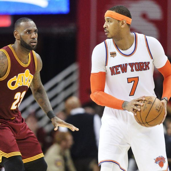 Lakers' LeBron James used to facing Carmelo Anthony in a home debut