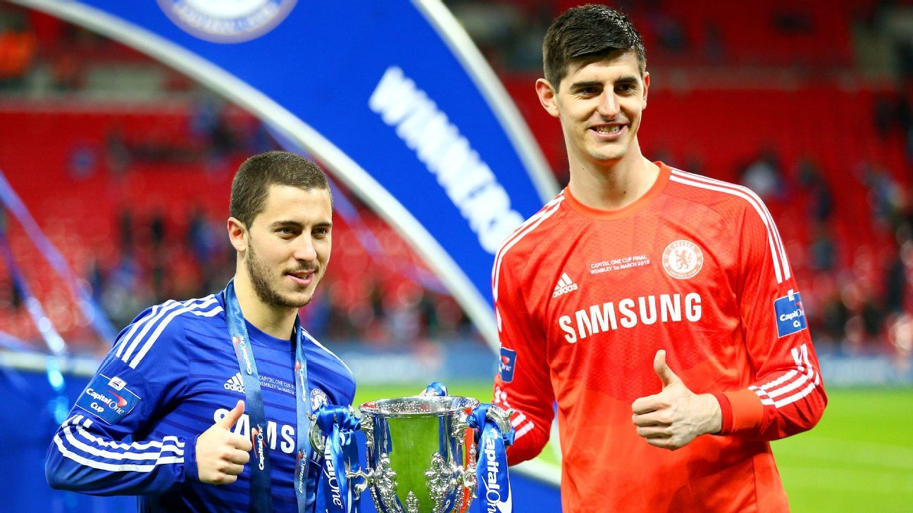 LIVE Transfer Talk: Real Madrid ready £200m move for Chelsea's Eden Hazard, Thibaut Courtois
