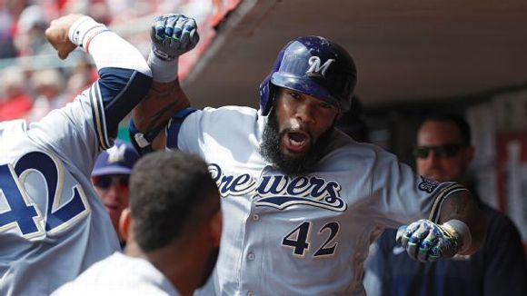 Eric Thames, Milwaukee Brewers