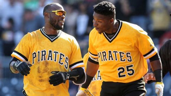 Starling Marte and Gregory Polanco