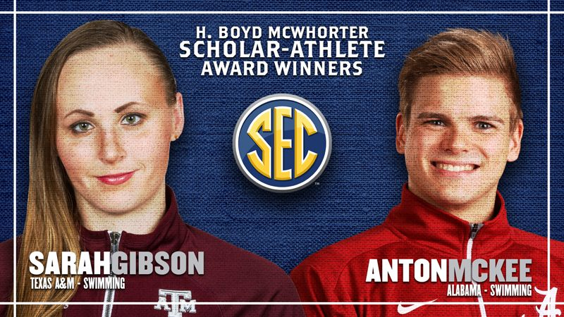 McKee and Gibson named McWhorter Award winners