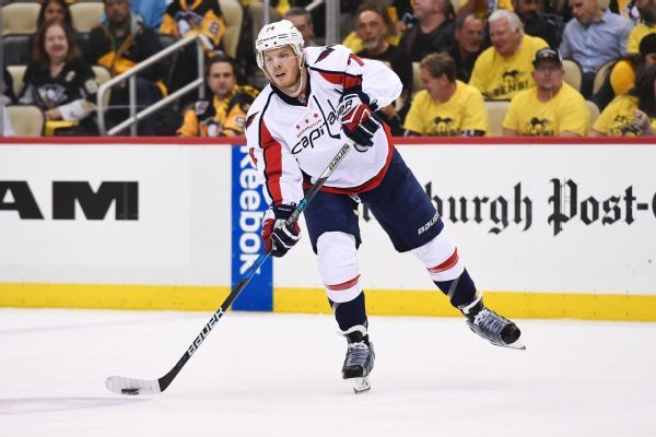 Capitals' defenseman John Carlson agrees to 8-year, $64M contract