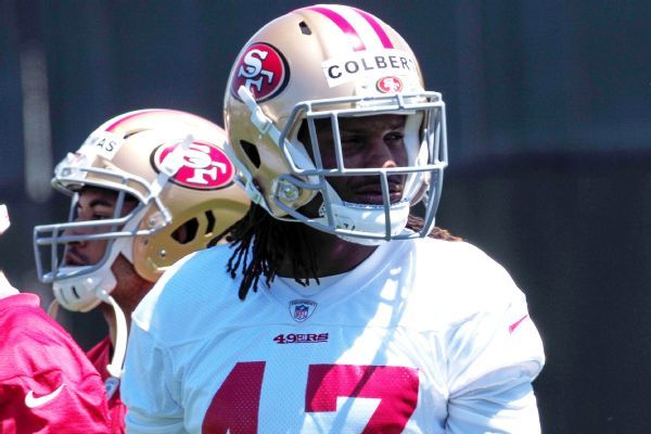 49ers place Adrian Colbert on injured reserve with high ankle sprain